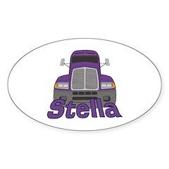 Trucker Stella Decal