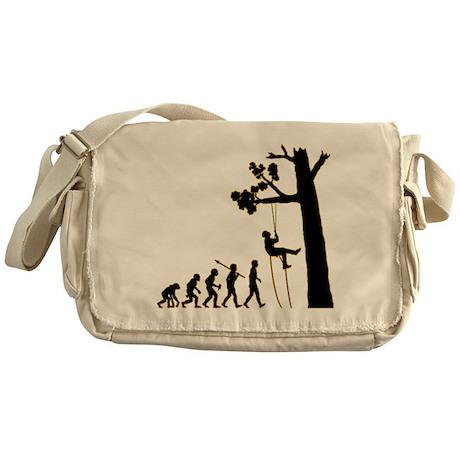 Tree Climbing Messenger Bag