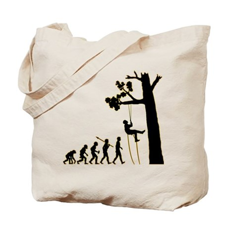 Tree Climbing Tote Bag