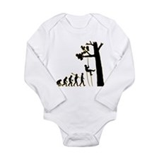 Tree Climbing Long Sleeve Infant Bodysuit