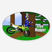 MX Tree Hugger Oval Decal
