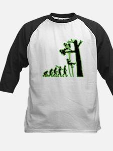 Tree Climbing Kids Baseball Jersey