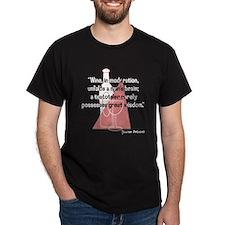 Jewish Proverb Black T-Shirt