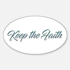 Keep the Faith Decal