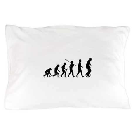 Unicycling Pillow Case