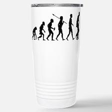 Unicycling Stainless Steel Travel Mug