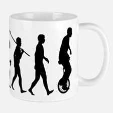 Unicycling Mug