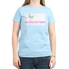 dragonfly cpst Women's Pink T-Shirt