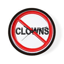 No Clowns -  Wall Clock