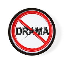No Drama - Wall Clock