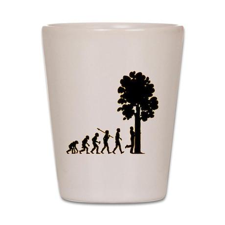 Tree Hugger Shot Glass