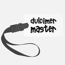 Dulcimer Luggage Tag