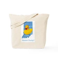 Hoosier Ducky? Tote Bag