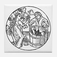 Winemakers Tile Coaster