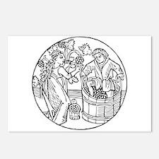 Winemakers Postcards (Package of 8)