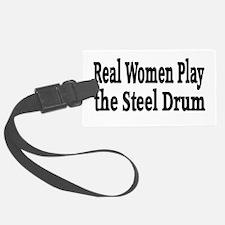 Steel Drum Luggage Tag