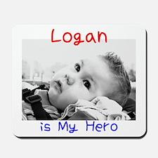 Logan is My Hero Mousepad