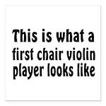 Violin Square Car Magnet 3