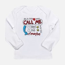 Call Me Long Sleeve Infant T-Shirt