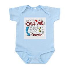Call Me Infant Bodysuit