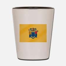New Jersey State Flag Shot Glass