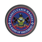 Pennsylvania Brothers Wall Clock