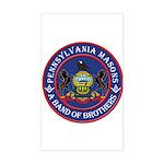 Pennsylvania Brothers Sticker (Rectangle)