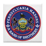 Pennsylvania Brothers Tile Coaster