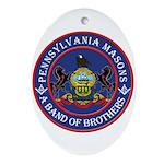 Pennsylvania Brothers Ornament (Oval)