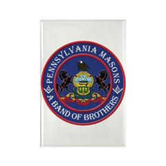 Pennsylvania Brothers Rectangle Magnet