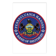 Pennsylvania Brothers Postcards (Package of 8)