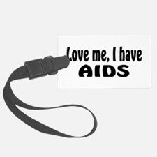 AIDS Luggage Tag
