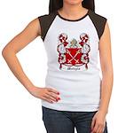 Mohyla Coat of Arms Women's Cap Sleeve T-Shirt