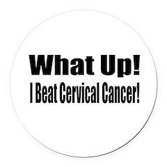 cervical17.png Round Car Magnet