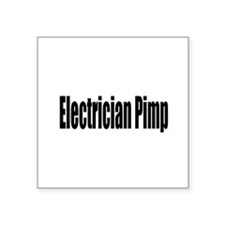 "electrician16.png Square Sticker 3"" x 3"""