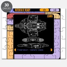 Star Trek LCars, Defiant Blueprint Puzzle