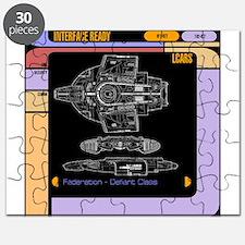 Star Trek LCars, Defiant Blueprint Puzzle