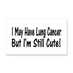 lung1.png Rectangle Car Magnet