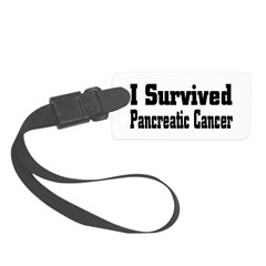 Pancreatic Cancer Luggage Tag