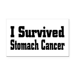 Stomach Cancer Rectangle Car Magnet