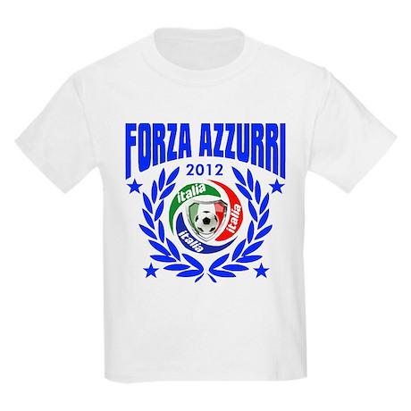 Forza Azzurri Italia 2012 Kids Light T-Shirt