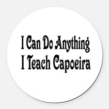 capoeira32.png Round Car Magnet