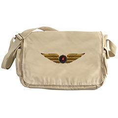 Wings of a Shrine Pilot Messenger Bag
