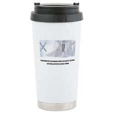 Kitty on the Tracks Travel Mug