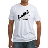 Snowmobiling Fitted Light T-Shirts