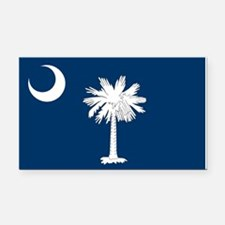 South Carolina Flag Rectangle Car Magnet