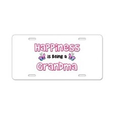 Cute Nana butterfly Aluminum License Plate