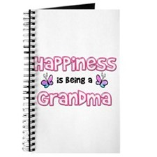 Cute Grandparents to be Journal