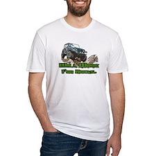 Will Work For Rocks- Green Shirt