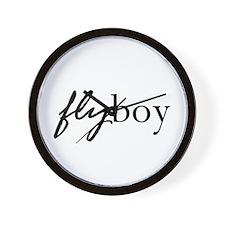 Fly Boy Wall Clock
